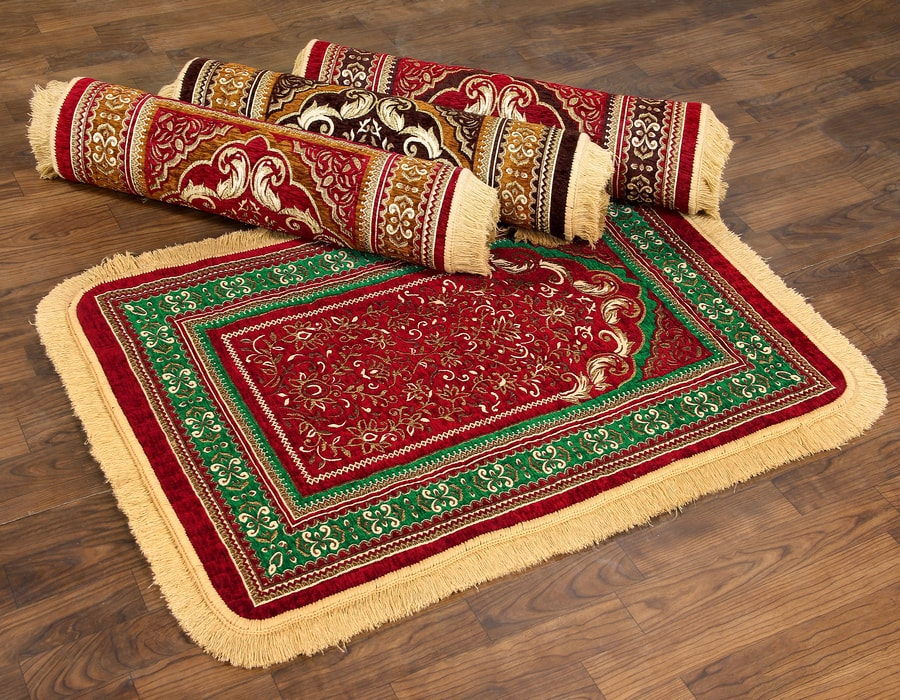 DOUBLE COLOR PRAYER MAT